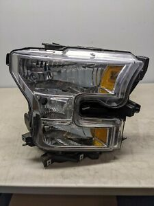 2015 2016 2017 Ford F-150 Right Passenger Headlight Halogen OEM Free Ship 13261
