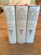 The History of the Canadian Bank of Commerce by V. Ross 3 Volume Set 1920