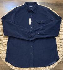 Big And Tall XXLT Nwt Men J.Crew Neppy Cotton Twill Shirt 2XLT