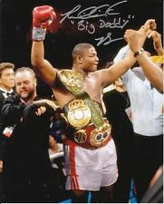 "RIDDICK BOWE ""BIG DADDY"" Autographed Signed 8 x 10 Photo Boxing COA"