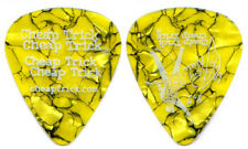 Cheap Trick Guitar Pick : 2003 Special One Tour Rick Nielsen yellow crackle