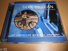 DON McLEAN cd REARVIEW MIRROR rudolph NANCI GRIFFITH vincent CRYING run diana