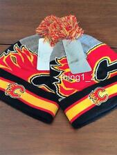 CALGARY FLAMES LICENSED FALL 2016 TOQUE NEW W/ TAGS