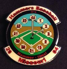 2004 Hammers Missouri Little League Trading Baseball Pinbacks