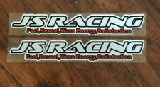 2x J's Racing 藝 Motorsports New Style Reflective Vinyl Sticker Decal Civic S2000