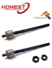 For VAUXHALL VIVARO 2001-2011 FRONT INNER TRACK TIE ROD END L/R X2 By Karlmann