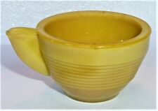 Akro Agate Child Tea Set Small Concentric Ring Rare Yellow Cup ~ 3 Available