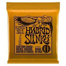 Ernie Ball 2222 Hybrid Slinky Electric Guitar Strings 9-46 Free Shipping
