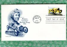 ~100th INDIANAPOLIS (Indy) 500 STAMP Ray Harroun- First Winner- First Day Cover~