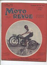 Moto Revue N°551  ; 30 septembre  1933 : essais d'une moto DAX