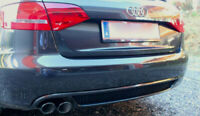 AUDI A4 B8 FACELIFT MODEL (2011-2015) S-LINE LOOK REAR BUMPER SPOILER / DIFFUSER