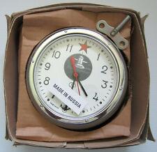 New listing Vintage Russian Soviet Cccp Kauahguyckue Maritime Submarine Clock Works Great !