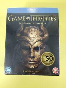Game of Thrones - Season 1-5 [Blu-ray] [Region Free] Disc Set