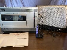 New listing Vintage Sharp Vc-3500 Video Cassette Recorder with Case, Manual, and Remote