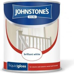 JOHNSTONES LIQUID GLOSS BRILLIANT WHITE 2.5LT