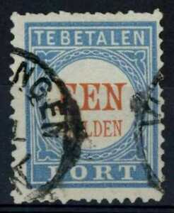 Netherlands 1881-94 SG#D163b 1g Postage Due P12.5x12 Type II Used #E84654