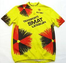 Men's Team SMAT Isbergues Tour France Cycling Bike Racing Jersey Shirt Large L