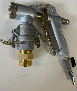 Texture Spray Gun with 4 Spray Nozzle and adapter to fit RTX & GTX material hose