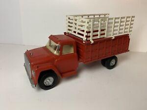 Vintage ERTL INTERNATIONAL IH STAKE BED Farm Truck Older Repaint Iowa USA