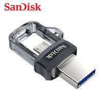 SANDISK ULTRA DUAL DRIVE micro3.0 / USB 3.0 64Go Stockage De Données