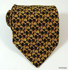 Garfield Tie Black Orange Cartoon Cat Necktie