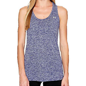 NEW Under Armour UA 1275487 Womens Tech Twist Tank Top LARGE EUROPA PURPLE 540
