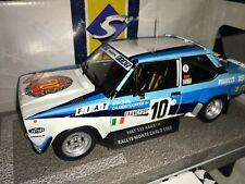 Fiat 131 Abarth #10 1980 W.röhrl Rallye Modèle 1 18 Solido