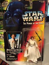 MOC Princess Leia Star Wars POTF2 Power Of Force 1995 Orange .00 3 Bands Belt