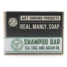 Shampoo and Beard Bar Soap Tea Tree Essential Oil 4.5 oz Handmade Vegan Natural