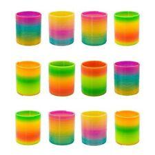 German Trendseller® - 12 x Magische Neon Regenbogen Spirale | -NEU- | Kinder