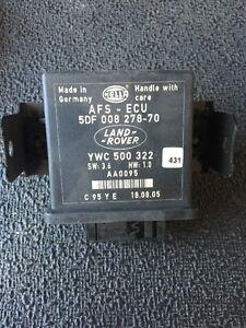 LAND ROVER MODULE LIGHT CONTROL RANGE ROVER SPORT RANGE ROVER OEM NEW YWC500322