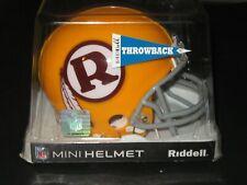 Washington Redskins Throwback Mini Helmet - Riddell in case
