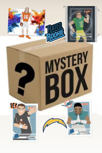 NFL MYSTERY PACKS BOX SEALED WAX Information in description