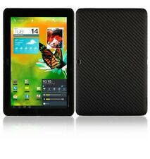 Skinomi Carbon Fiber Black Skin+Screen Protector Cover for Acer Iconia Tab A700
