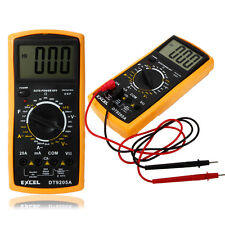 EXCEL DT9205A Digital LCD Automatic Range Power OFF Multimeter Ammeter Ohmmeter