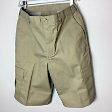 Edwards Garment Men/'s Button Closure Flat Front Casual Chino Short 2450