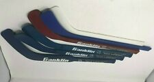 5 Franklin Nhl Shot Zone Mini Floor Hockey Sticks Plastic Mini + Goalie Stick +1