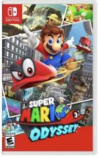 Brand New Super Mario Odyssey Nintendo Switch 2017 + Cappy Collectible Coin