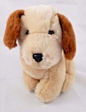"""24k Polar Puff Tan Puppy Dog Plush 8"""" 1992"""