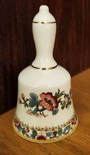 Coalport England Bone China Miniature Porcelain Bell Ming Rose Collectible Euc