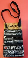 1x Australian Souvenir Travel Bags 3 Zipper Compartments - Brand New with tag