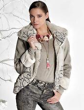 Elisa Cavaletti kurze Jacke Coat Winter Plüsch  Elw168032500 Winter SALE Gr L
