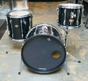 Tama 3pc Rockstar Drum Set Black