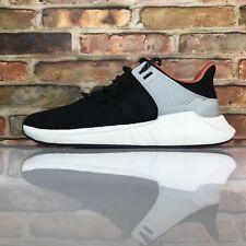 Adidas Boost Originals EQT Equipment Support 93-17 Welding Black White Mens 10