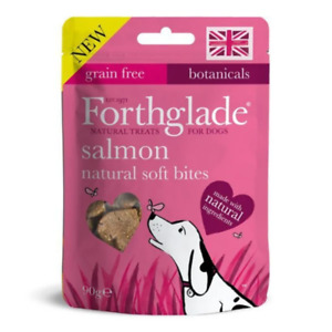 Forthglade Salmon Natural Soft Bites Dog Treats 90g