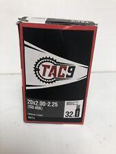 Tac9 Bicycle inner Tube 20x2.00-2.25 32mm Schrader valve kids bike BMX 63771