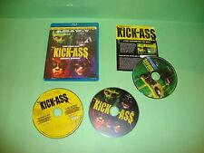 Kick-Ass (Blu-ray  /DVD, 2010, 3-Disc Set)