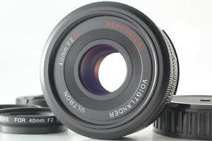 【TOP MINT w/ Close Up】 Voigtlander Ultron 40mm f/2 SL II N Lens Ai-s from JAPAN