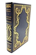 MADAME BOVARY BY GUSTAV FLAUBERT - THE FRANKLIN LIBRARY - THE 100 GREATEST BOOKS