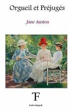 Orgueil et Préjugés by Jane Austen (2016, Paperback)